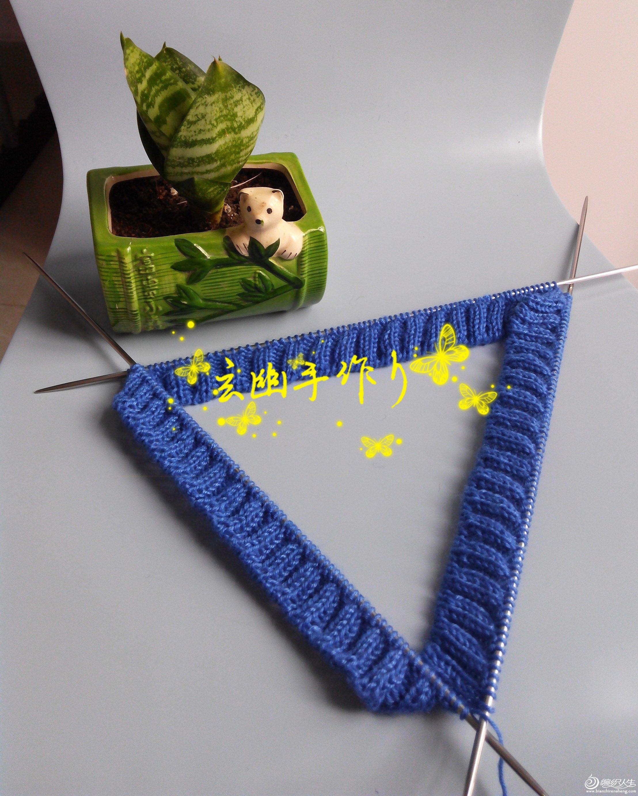 【引用】莎菲雅Sapphire—半原创圆育克费尔岛提花套衫 - 壹一 - 壹一编织博客
