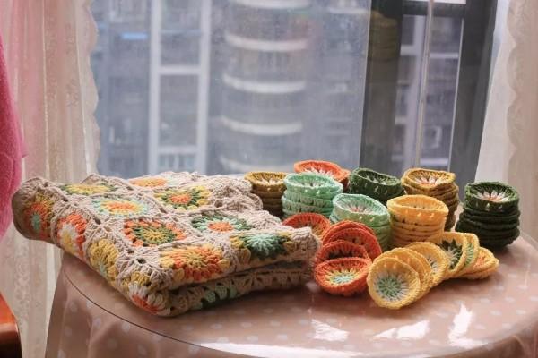 [家居饰品] 小雏菊森系复古沙发垫——春天的颜色 有图解 - yn595959 - yn595959 彦妮