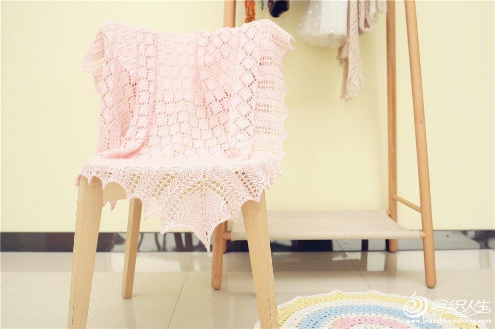 编织皇家婴儿毯