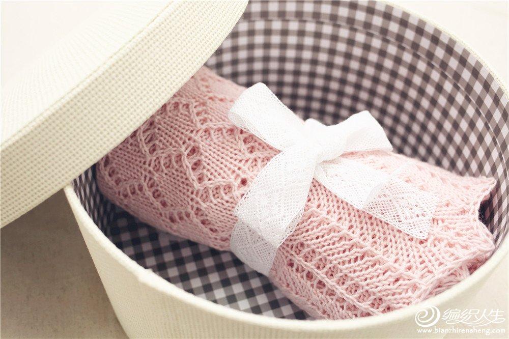 手工编织婴儿毯