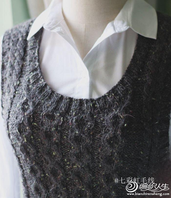 手工编织毛衣款式之时.-编织人生移动门户