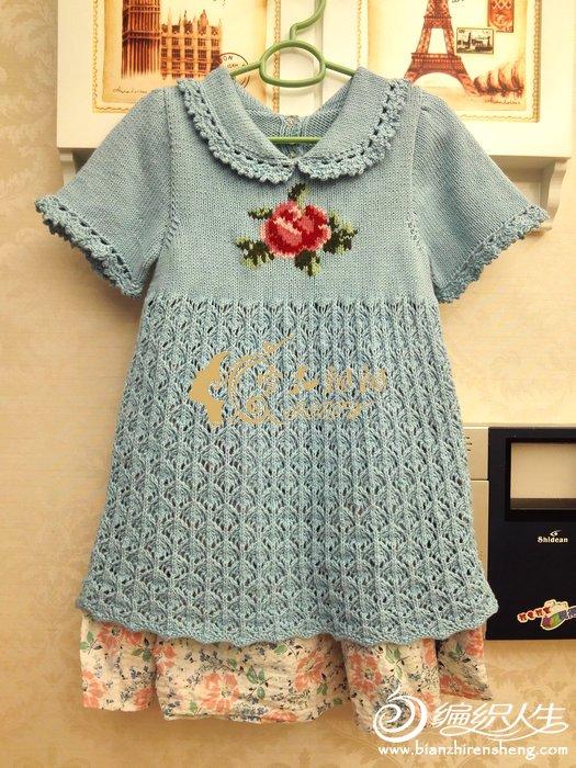 儿童短袖连衣裙
