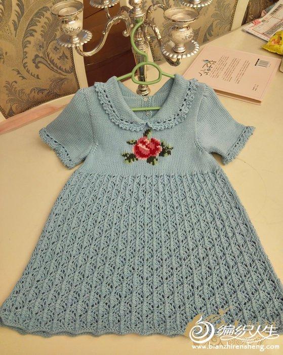 女童棒针裙衣
