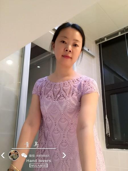 """""""鸢尾萝""""精致菠萝裙 - 空中浮萍 - 空中浮萍的博客"""
