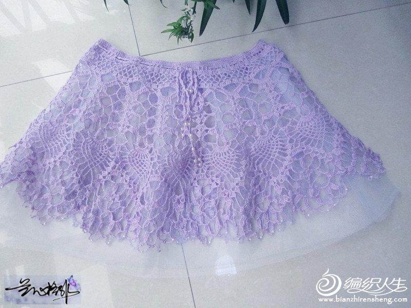 儿童钩针蕾丝裙