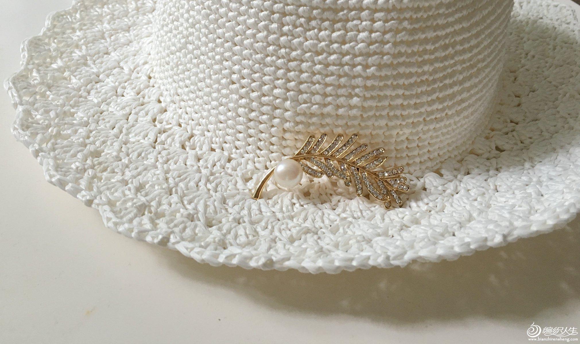 鉤夏涼帽子