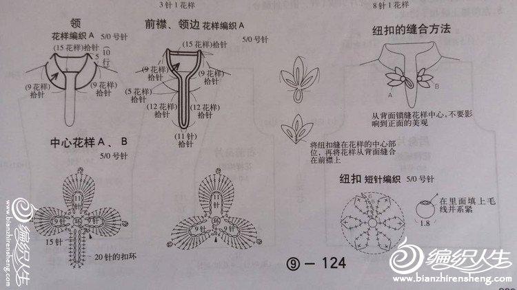 【引用】烟雨漫漫——原创民族风套衫 - 壹一 - 壹一编织博客