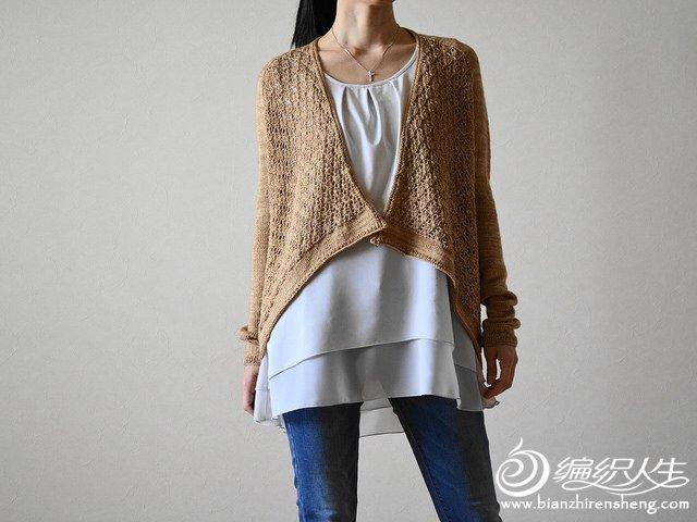 欧美设计款毛衣开衫