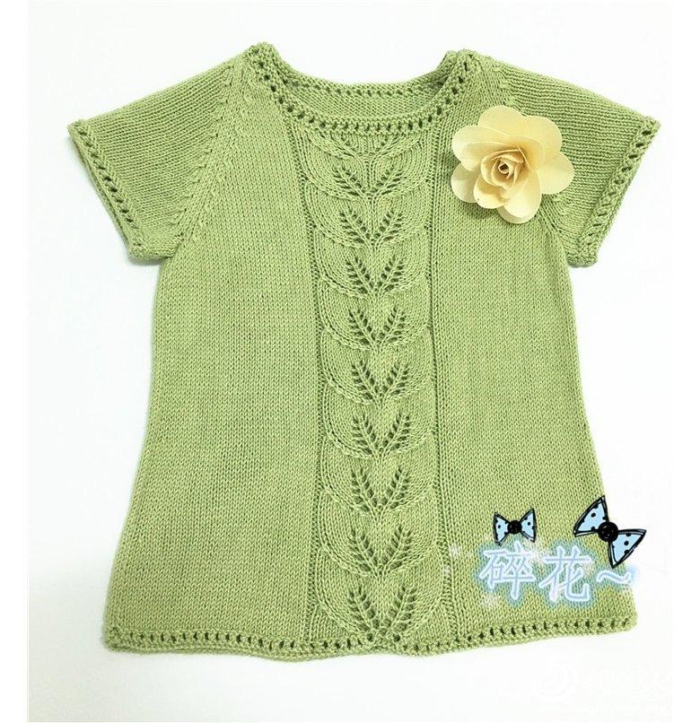 编织图解与说明,一起来看看这件可爱的宝宝毛衣怎么
