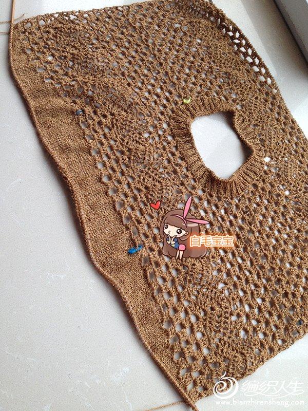围巾钩织教程与图解