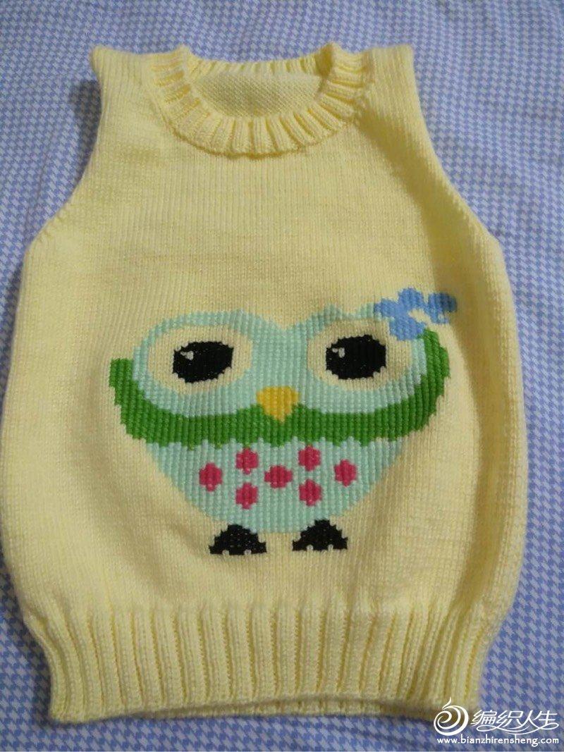 编织教程 多款男女宝宝都可以穿卡通图案套头毛衣(附毛衣绣图方法)  2