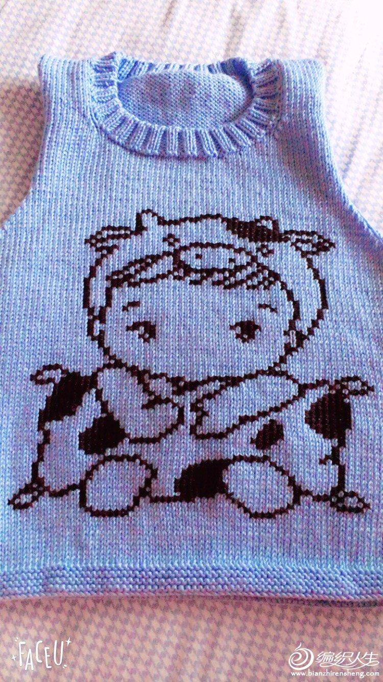 编织教程 多款男女宝宝都可以穿卡通图案套头毛衣(附毛衣绣图方法)  1