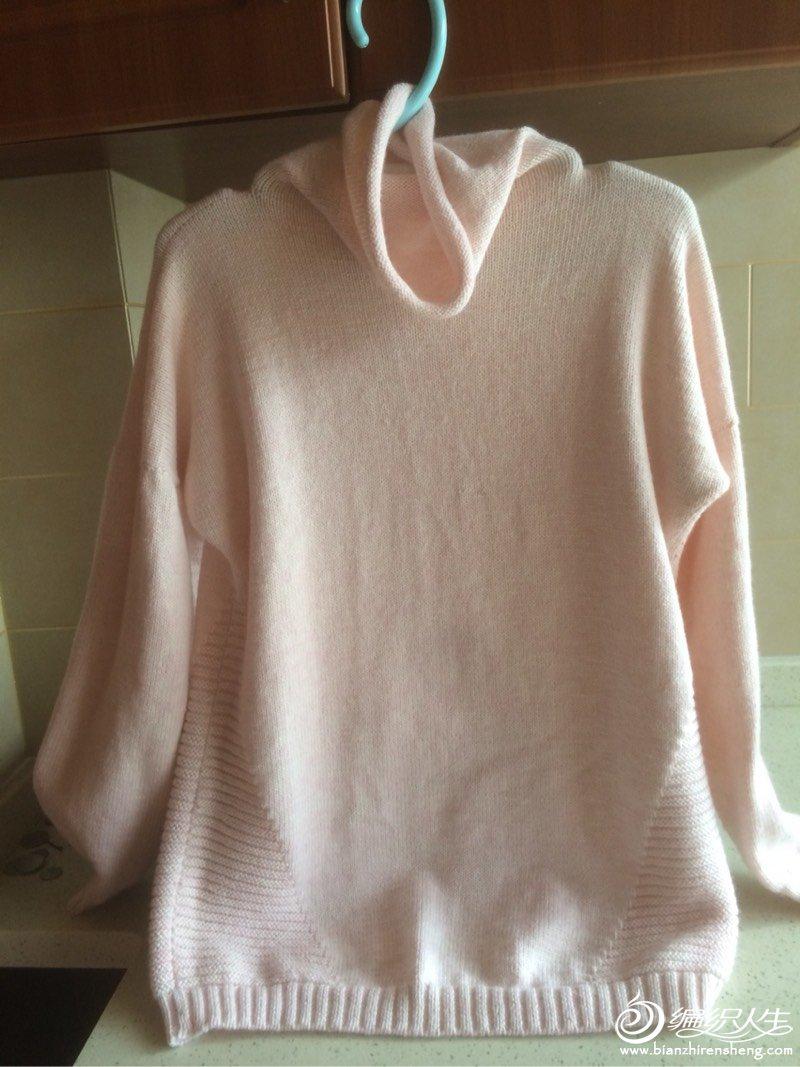 棒针女士羊毛衫