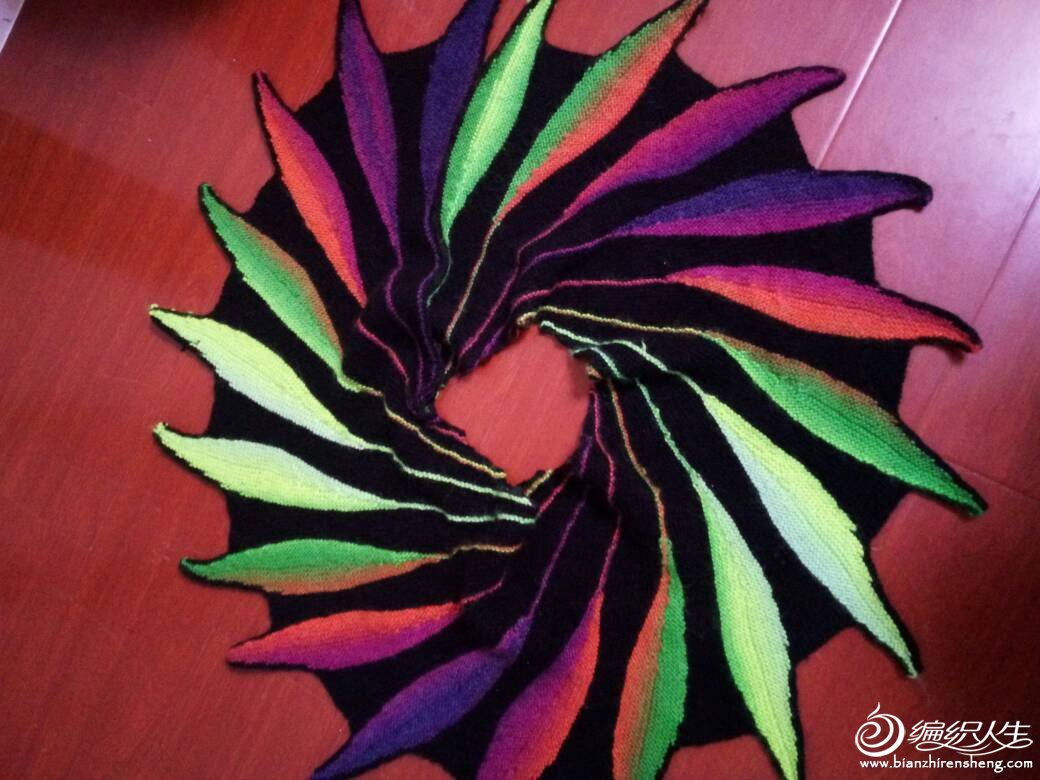 彩色羽毛披肩 - yao064 - 众里寻他千百度