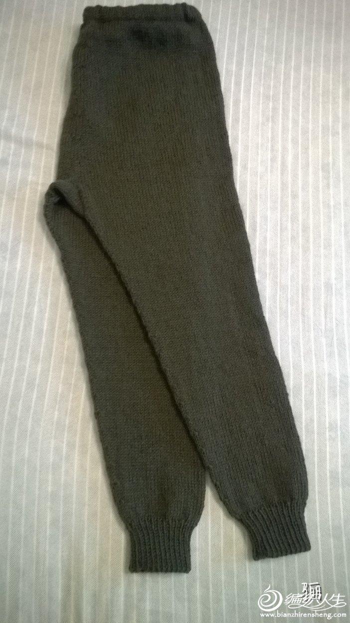 中老年羊毛裤织法