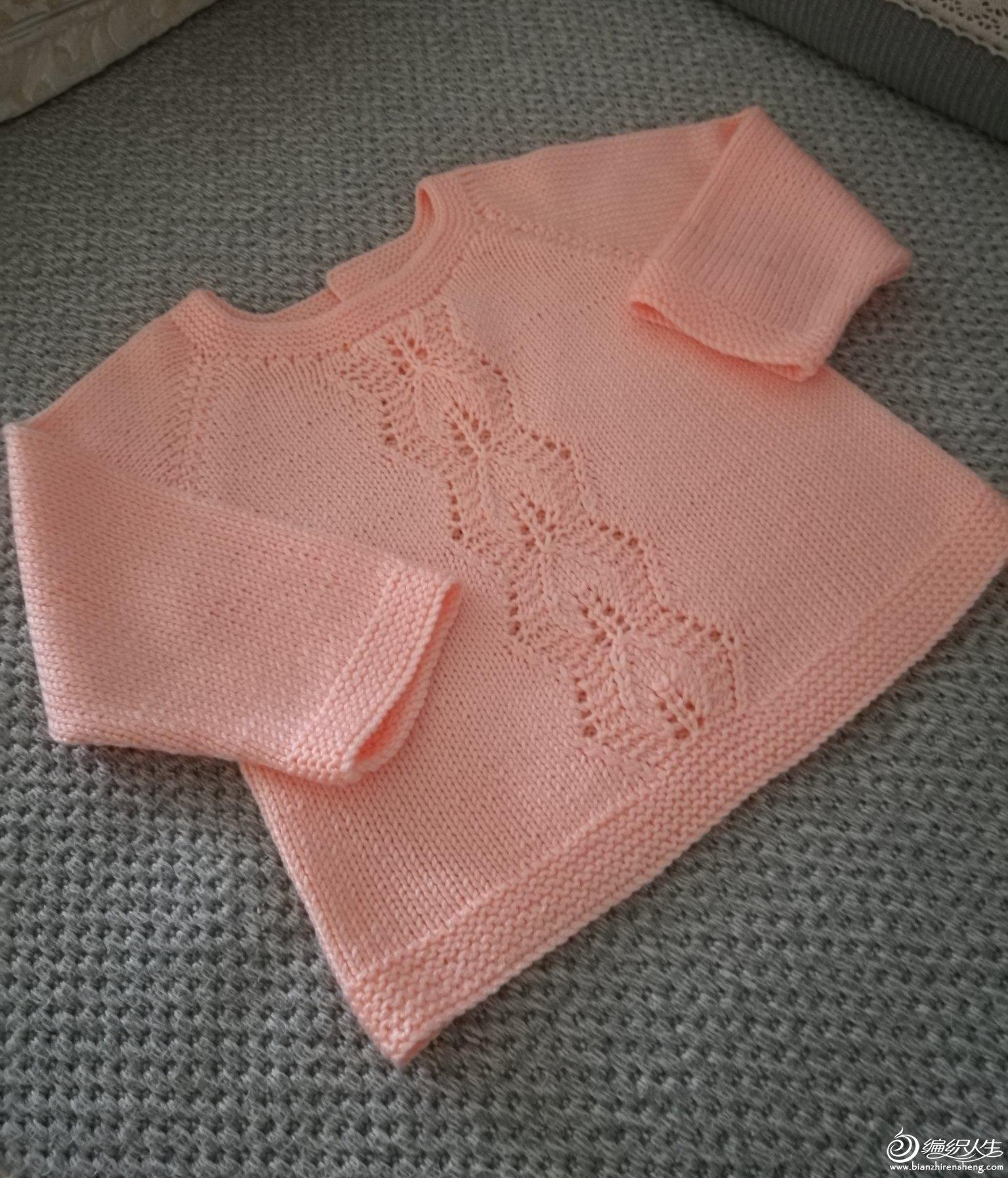 宝宝棒针毛衣