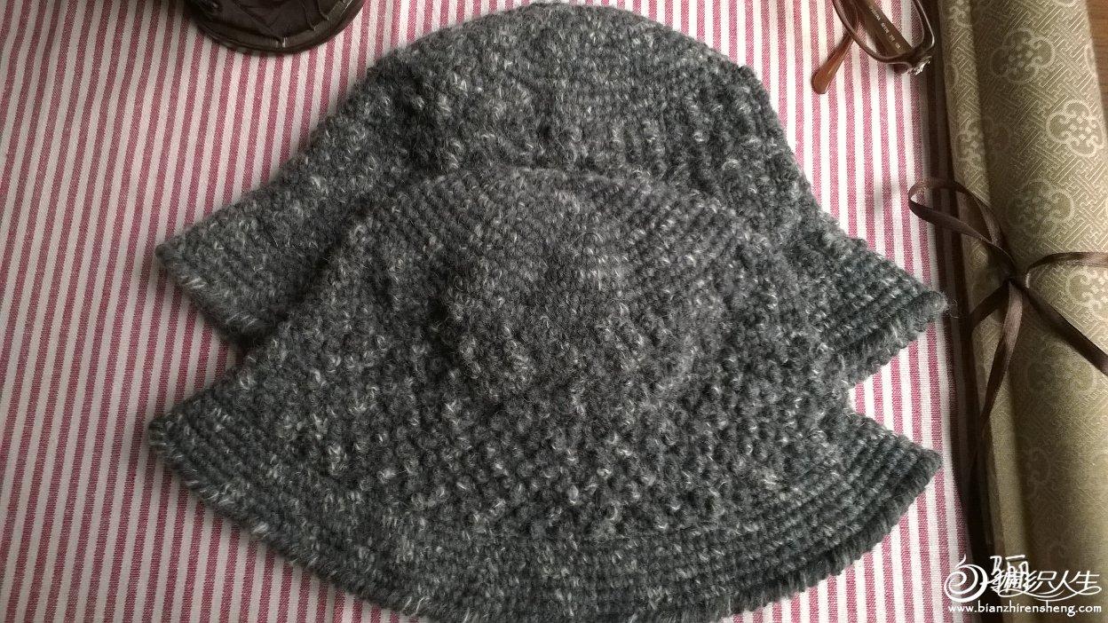 中老年冬季毛线帽