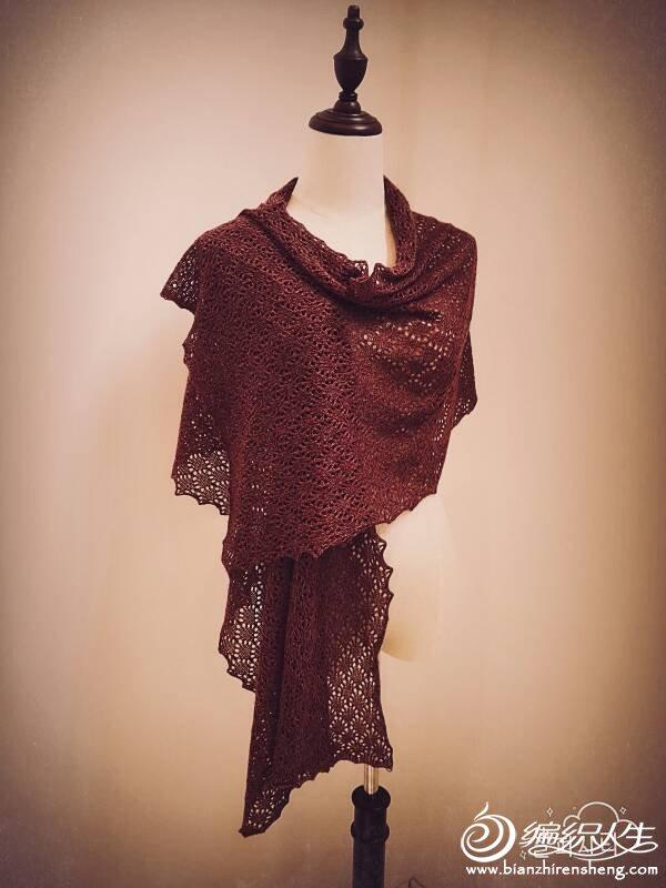 银笛280机织围巾