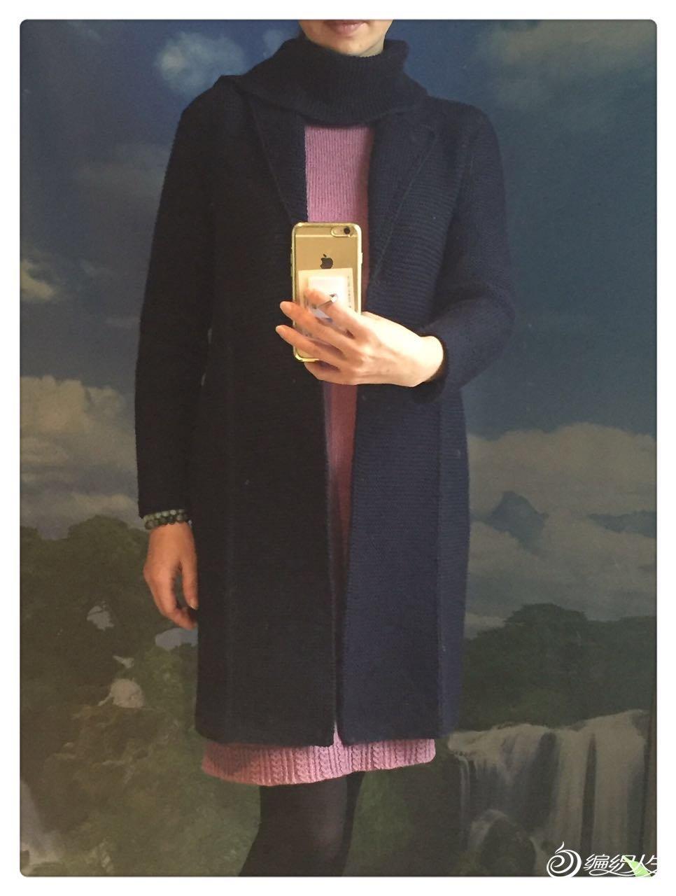 手工编织大衣款式
