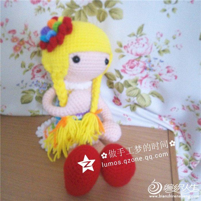 钩针人形玩偶