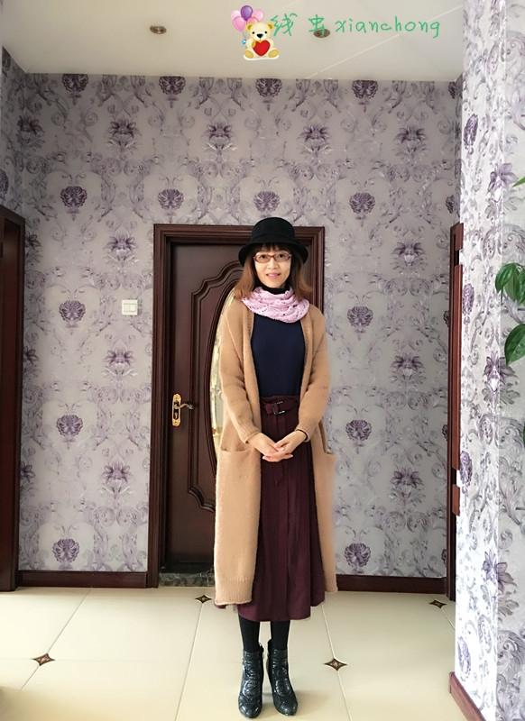 [开衫] (线虫)——流行风!---时尚、前卫宽松羊驼大衣(有详细笔记、真人秀) - yn595959 - yn595959 彦妮