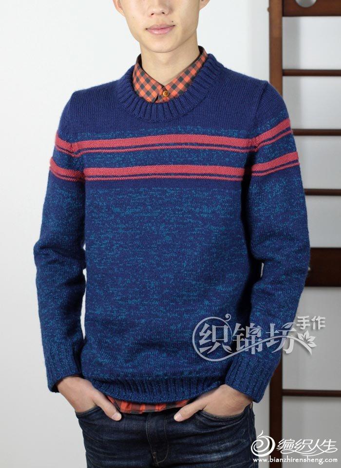 手织男士毛衣款式