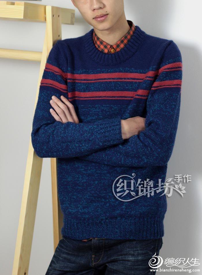 手编男士毛衣款式