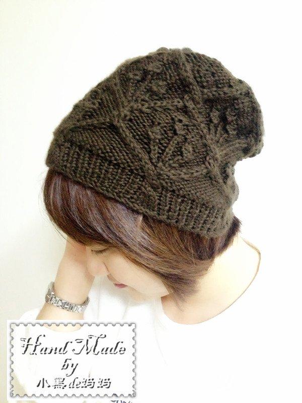 手编毛线帽子