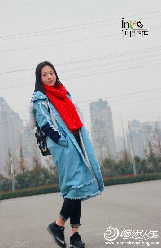 冬日毛线编织围巾款式