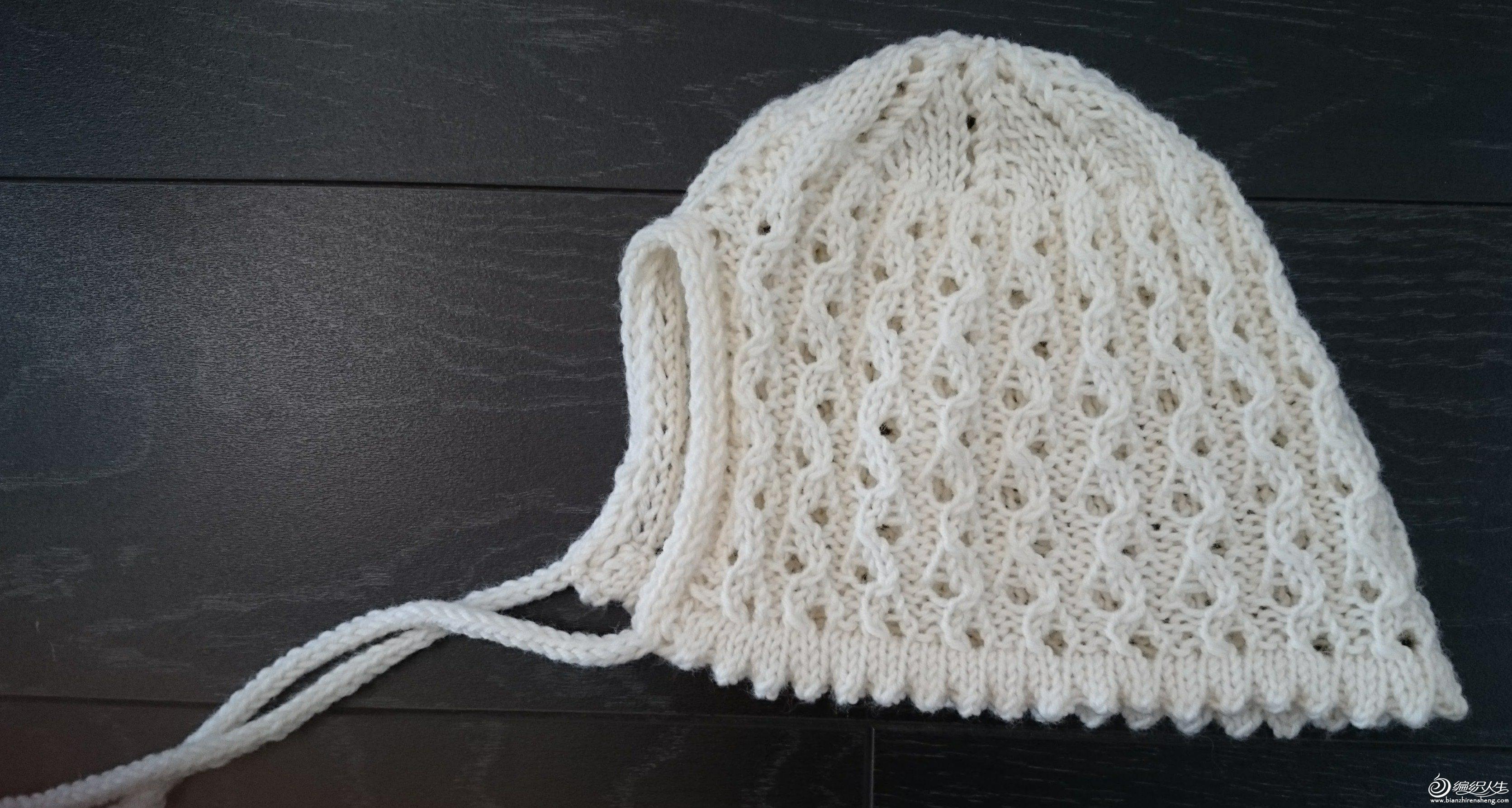 婴幼儿毛线帽织法