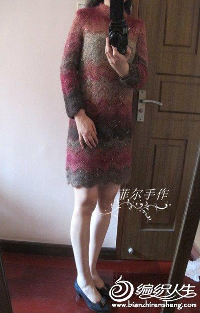棒针女士裙装
