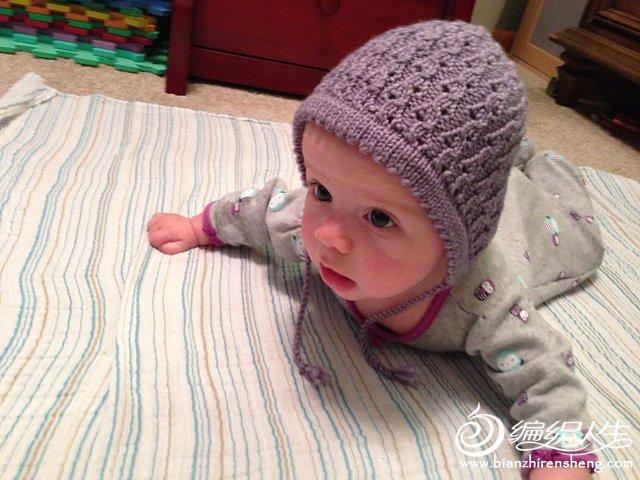 棒针婴儿帽