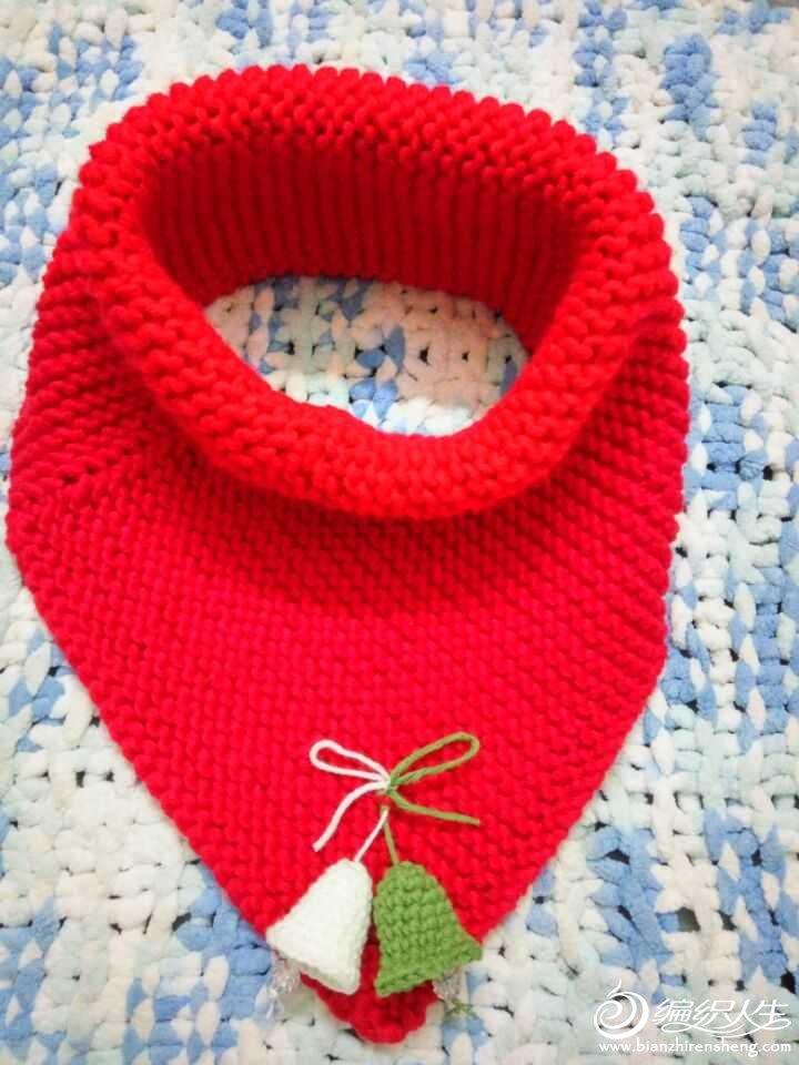 (钩针居家饰品:圣诞铃铛)圣诞节快到了,织女们都纷纷晒出圣诞主题的作