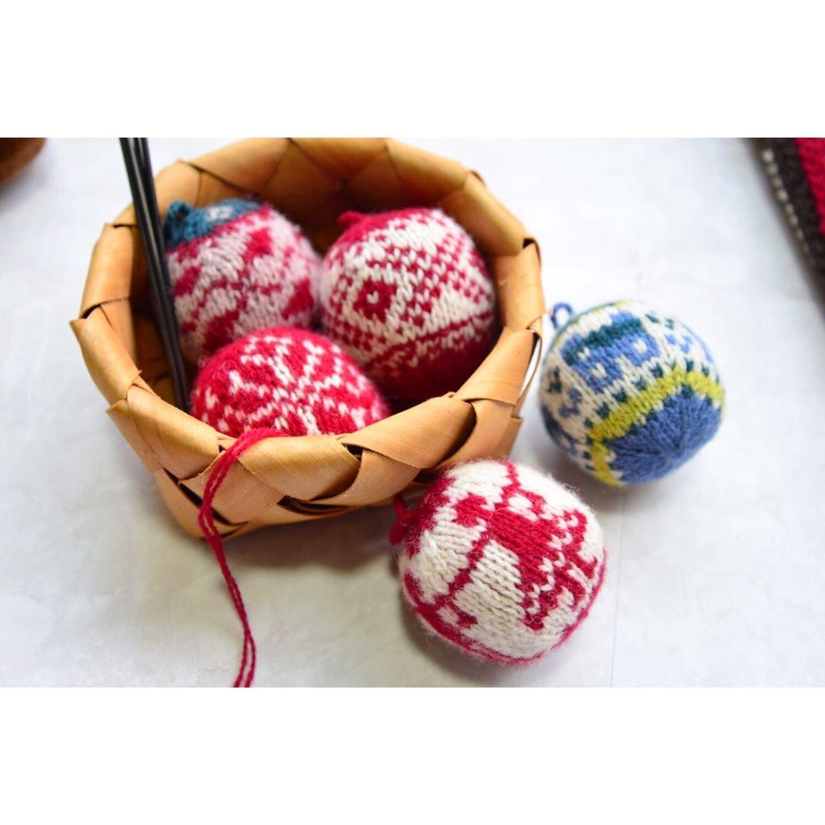 圣诞球编织
