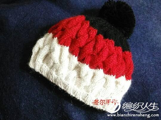 冬款毛线帽