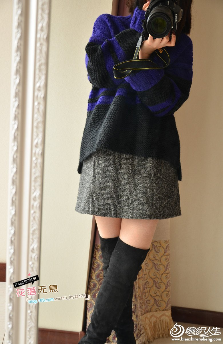 手工编织时尚毛衣款式