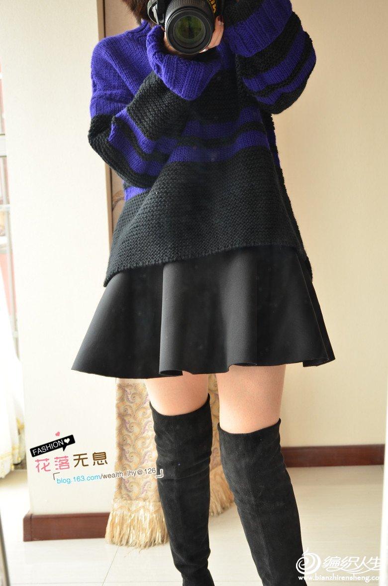 时尚手编羊毛衫款式