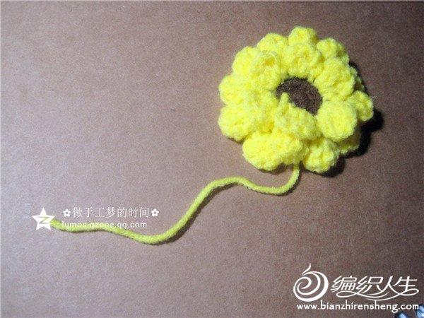 钩针太阳花