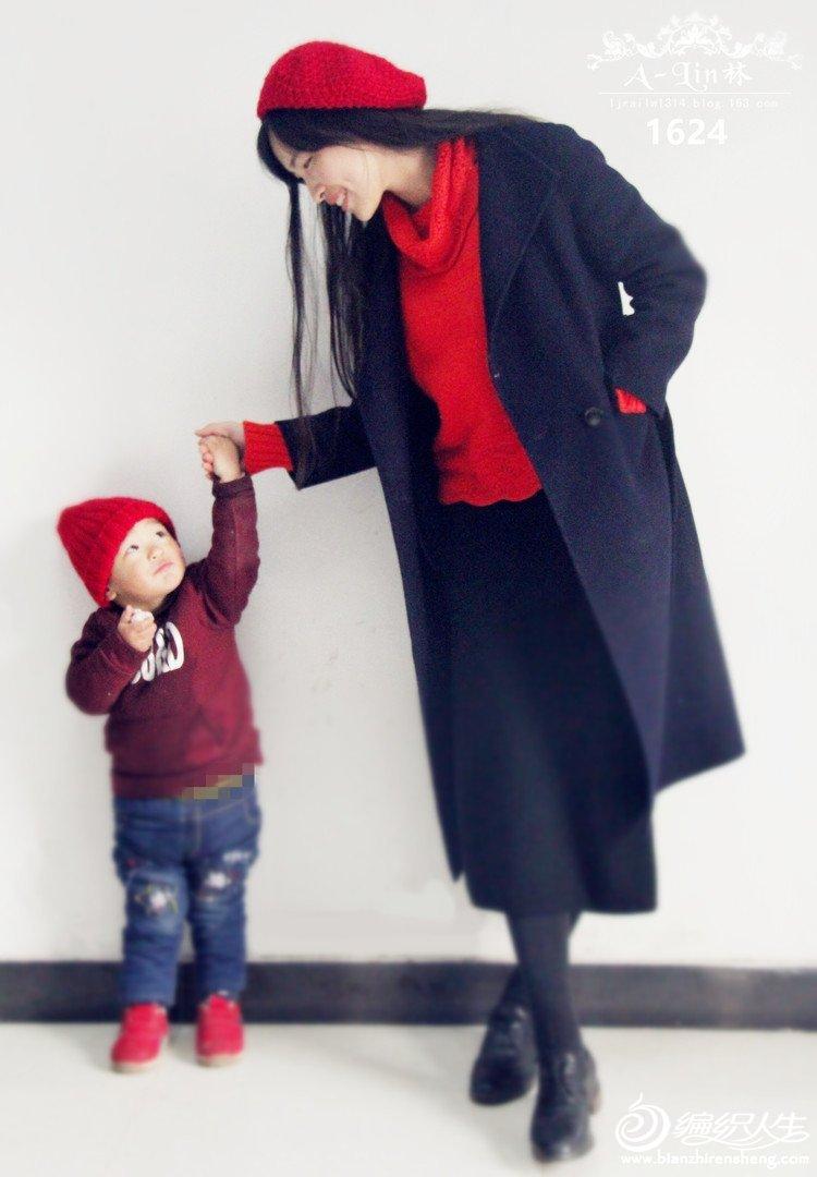 母子新年U乐娱乐youle88帽