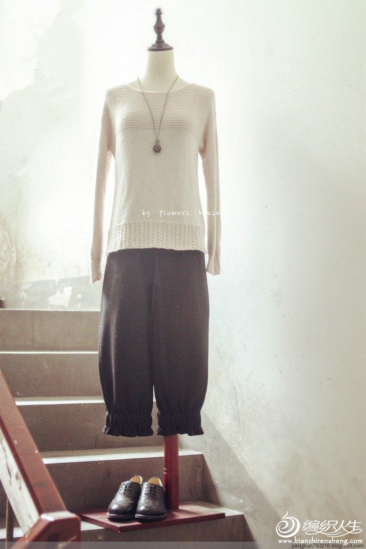 手编女士羊绒衫