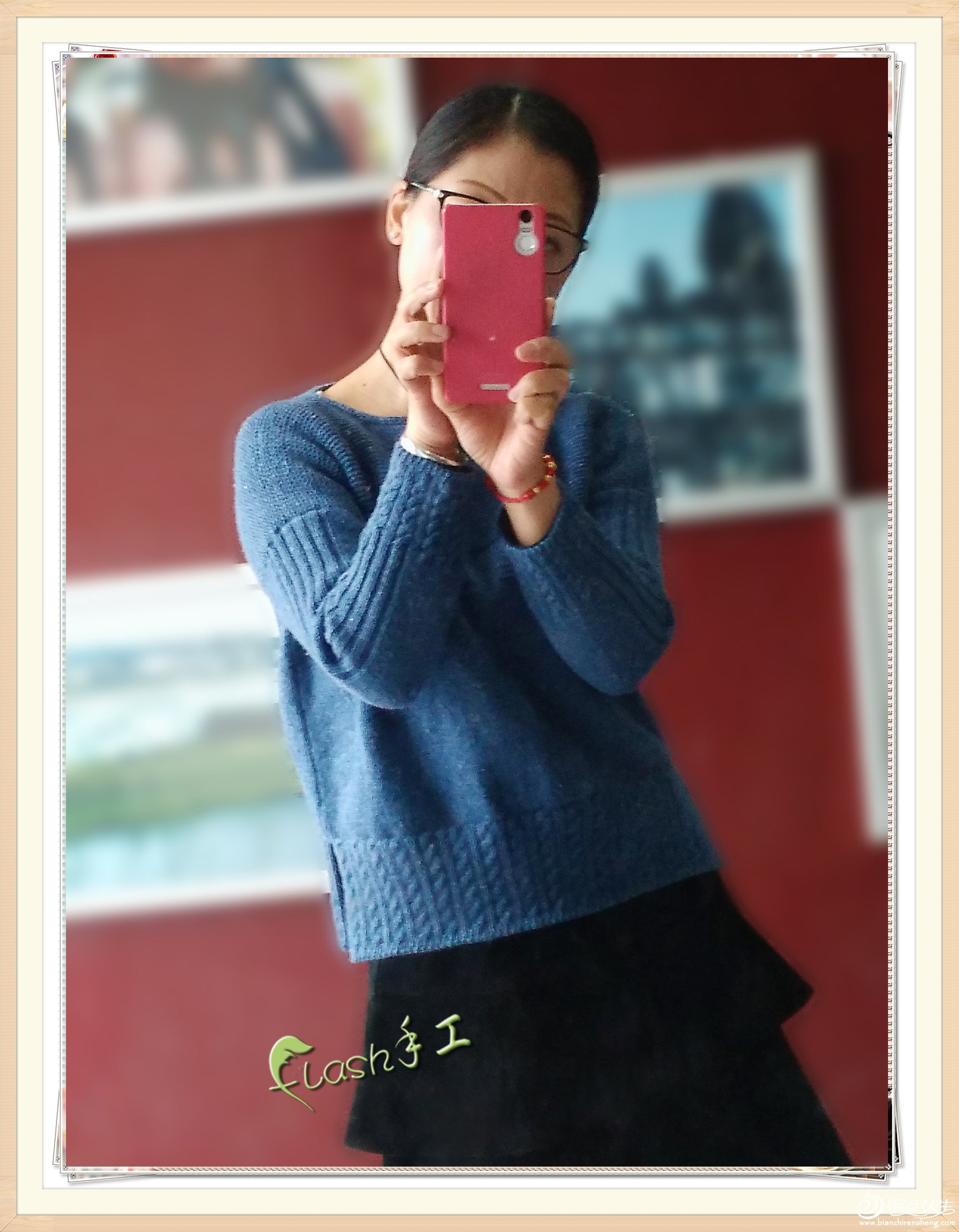 女士套头毛衣