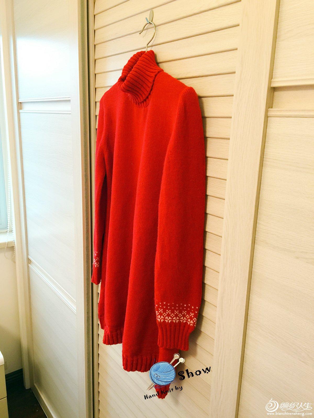 家机编织毛衣款式