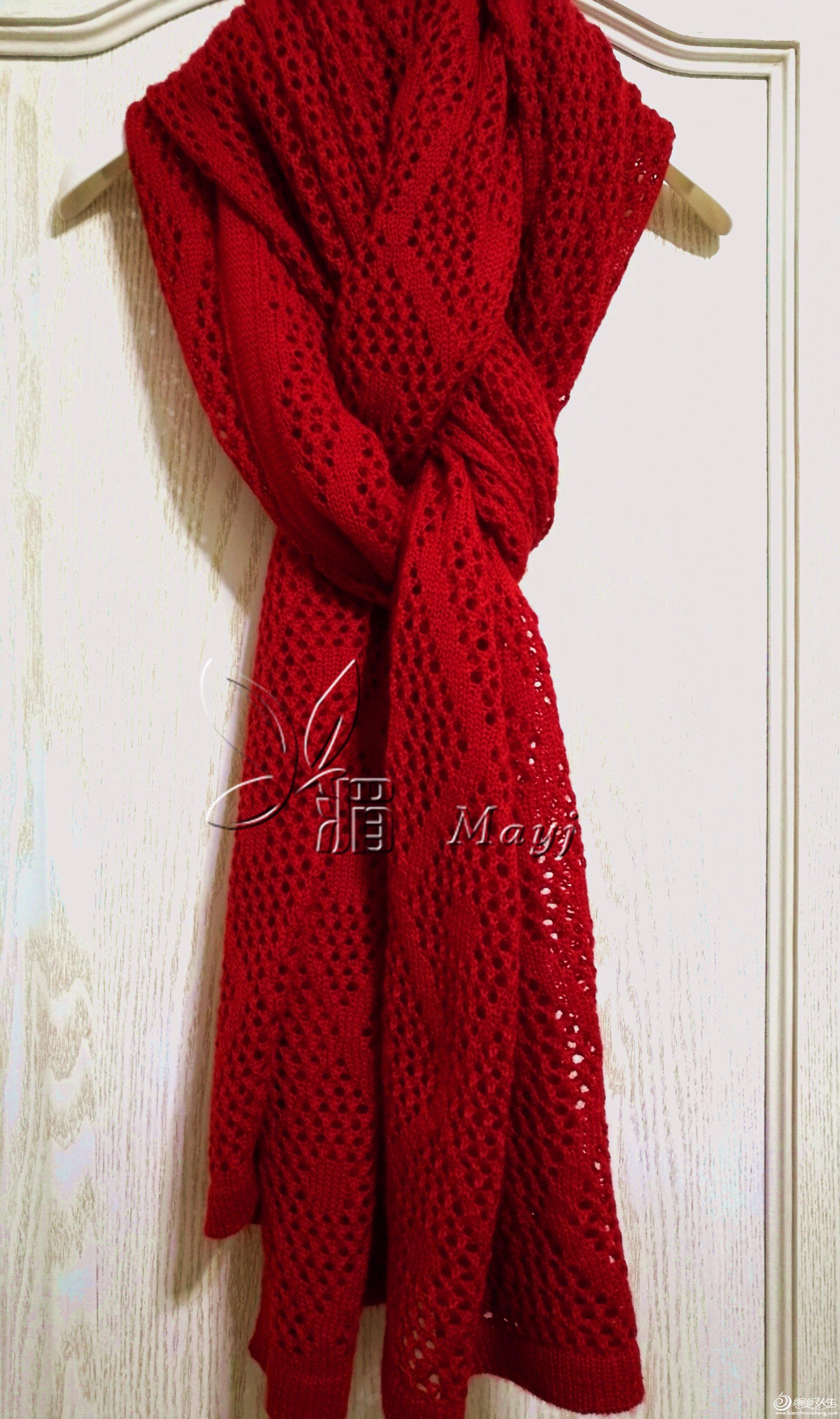 家用编织机女士围巾