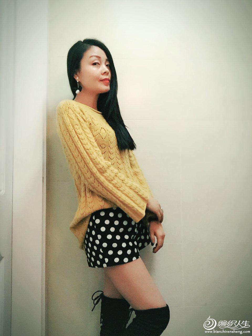 时尚手编女士毛衣