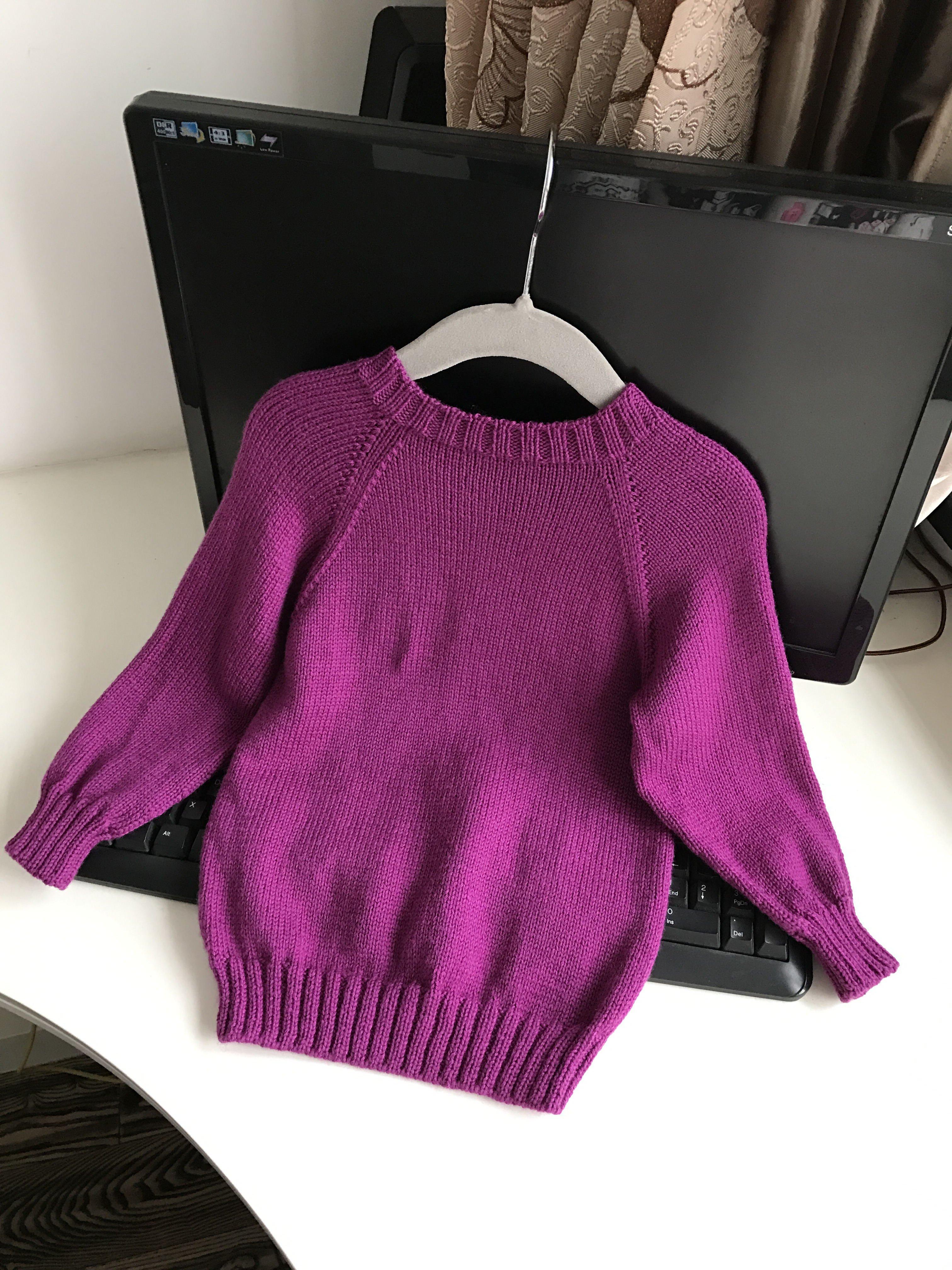 【引用】 — E时代中童毛衣(附图解,超详细挑袖过程) - 壹一 - 壹一编织博客
