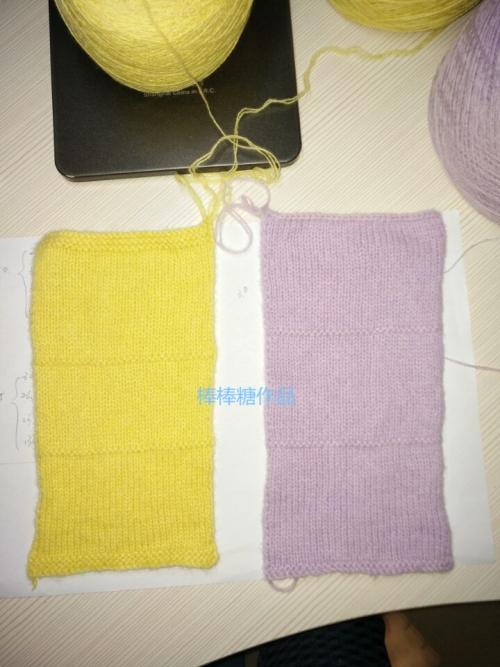 织毛衣起针不求人!——小样的织法与用法 - rushuiok - 棒棒糖毛线编织