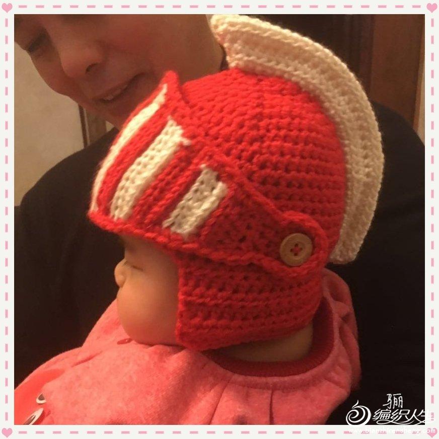 幼儿钩针帽子