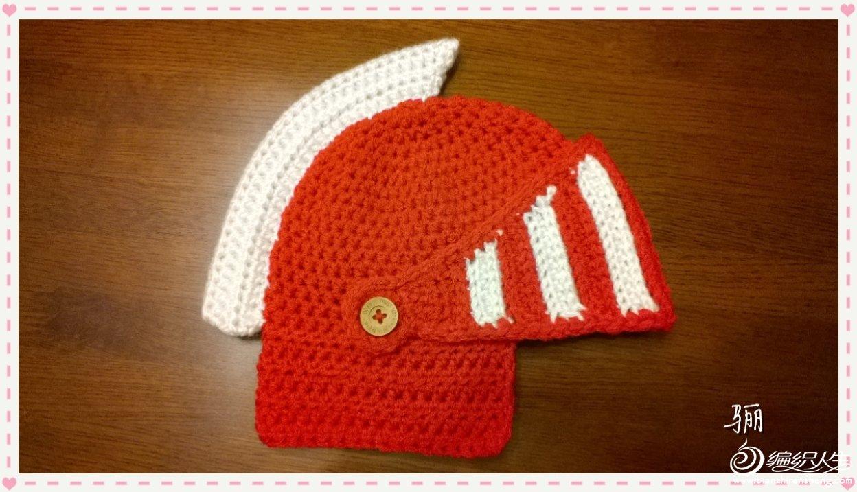 宝宝钩针帽子