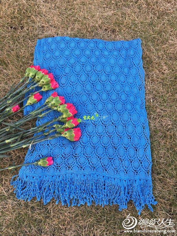 女士棒针围巾