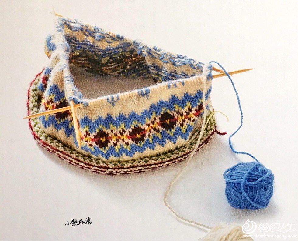 棒针提花编织